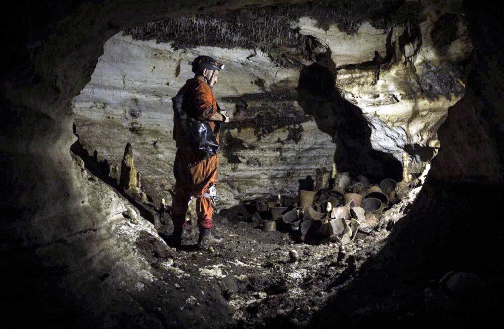 В Мексике найдена нетронутая ритуальная пещера майя