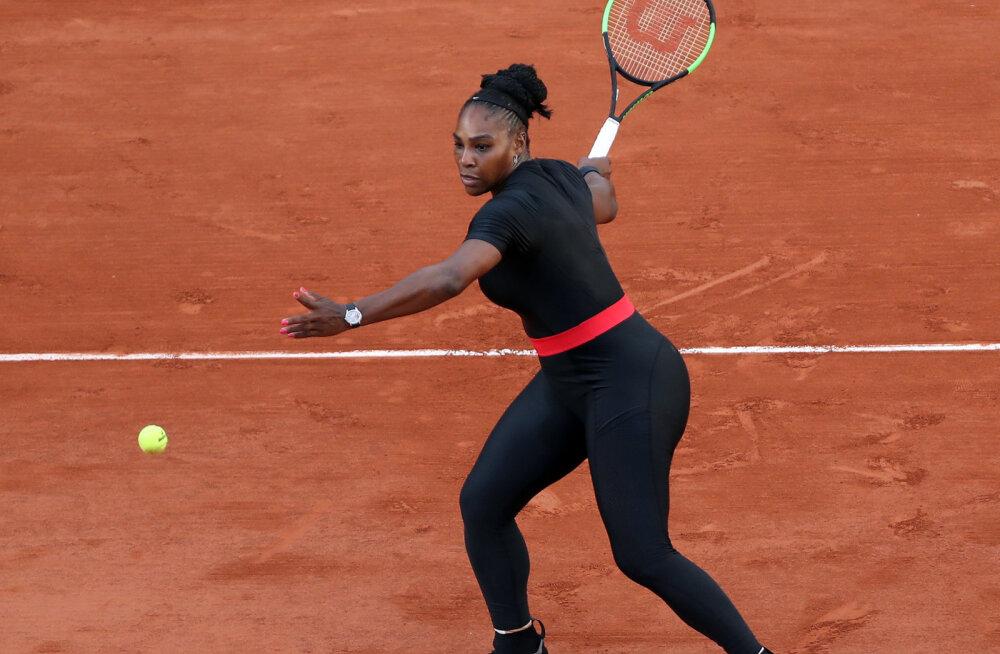 Serena Williamsi skandaalne trikoo