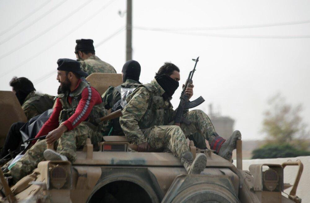Sõdurid Süürias