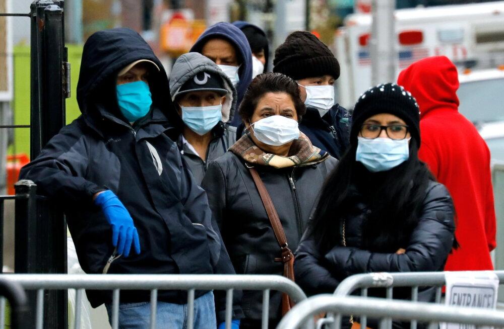 USA terviseamet soovitab kõigil ameeriklastel riidemaske kanda