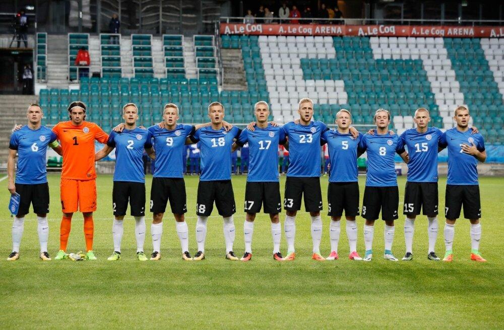 Eesti U21 koondis sõidab suurt revanši võtma