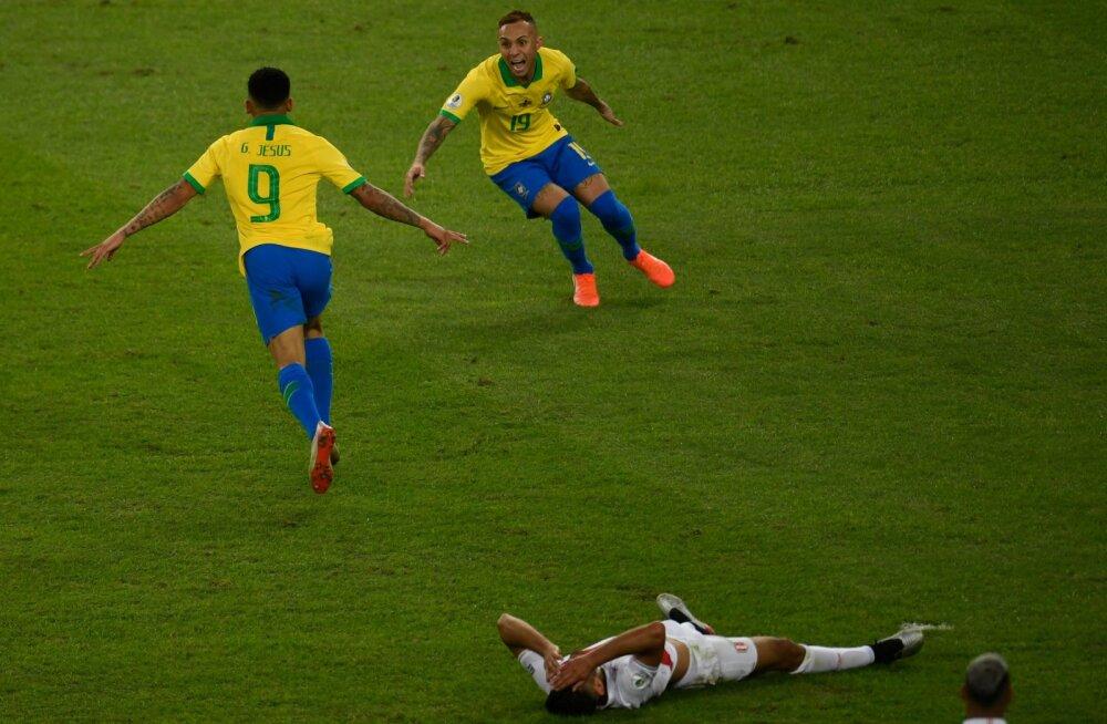 VIDEO | Vähemuses lõpetanud Brasiilia krooniti kodusel Copa Americal võitjaks