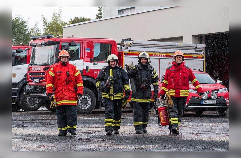 Братья, сыновья, племянники: в Пайде близкие родственники бок о бок тушат пожары