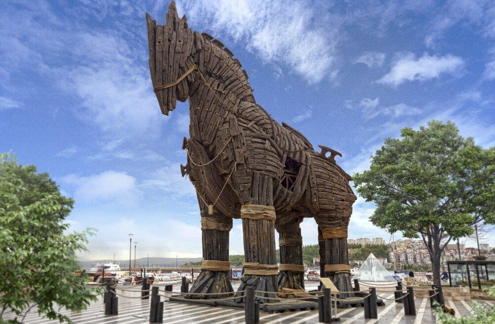 Kas mäletad Trooja hobust? Just see kuulus kabjakandja on Türgi 2018. aasta teema turismis