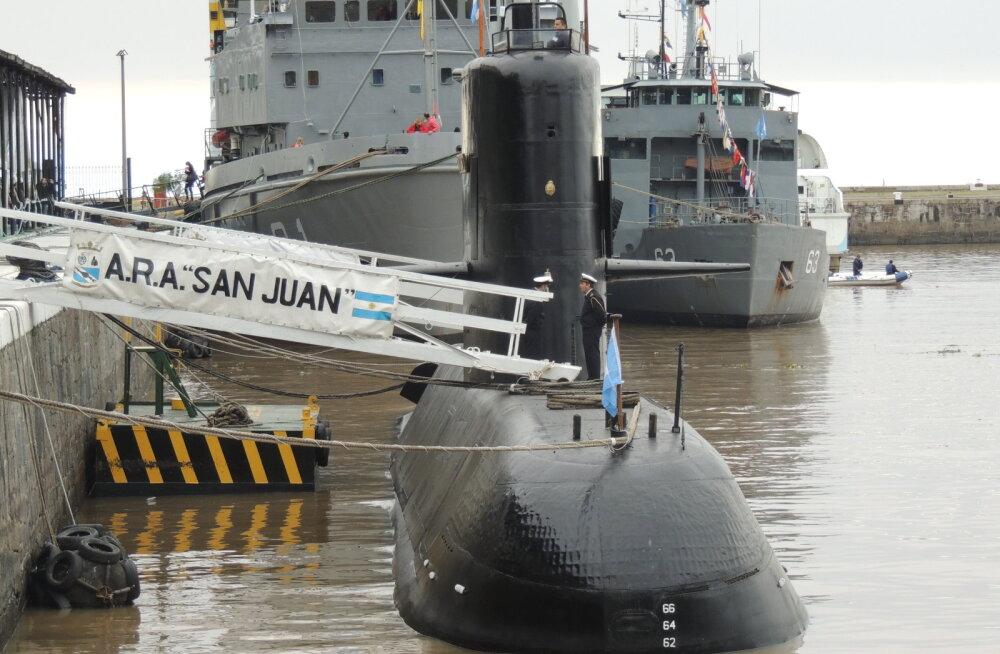 Argentina kadunud allveelaevnikud on nüüd juba kindlas surmaohus