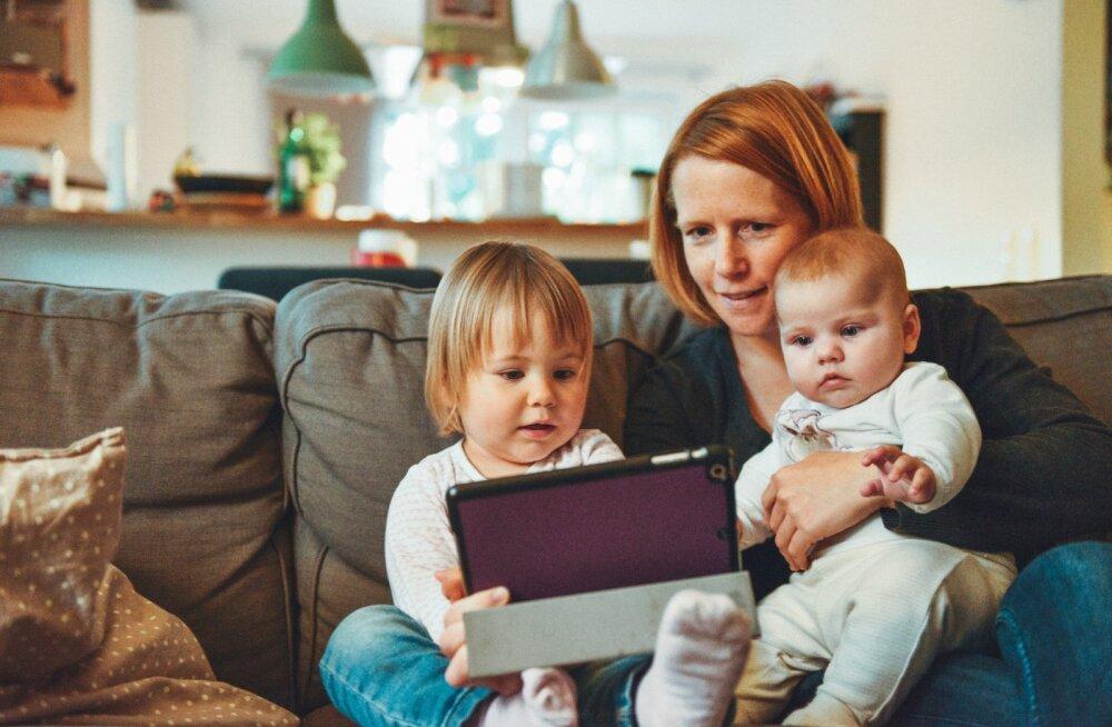 Karm reaalsus: nutiseadmete kasutamine võib tuua lastele kaasa pöördumatuid tervisekahjustusi