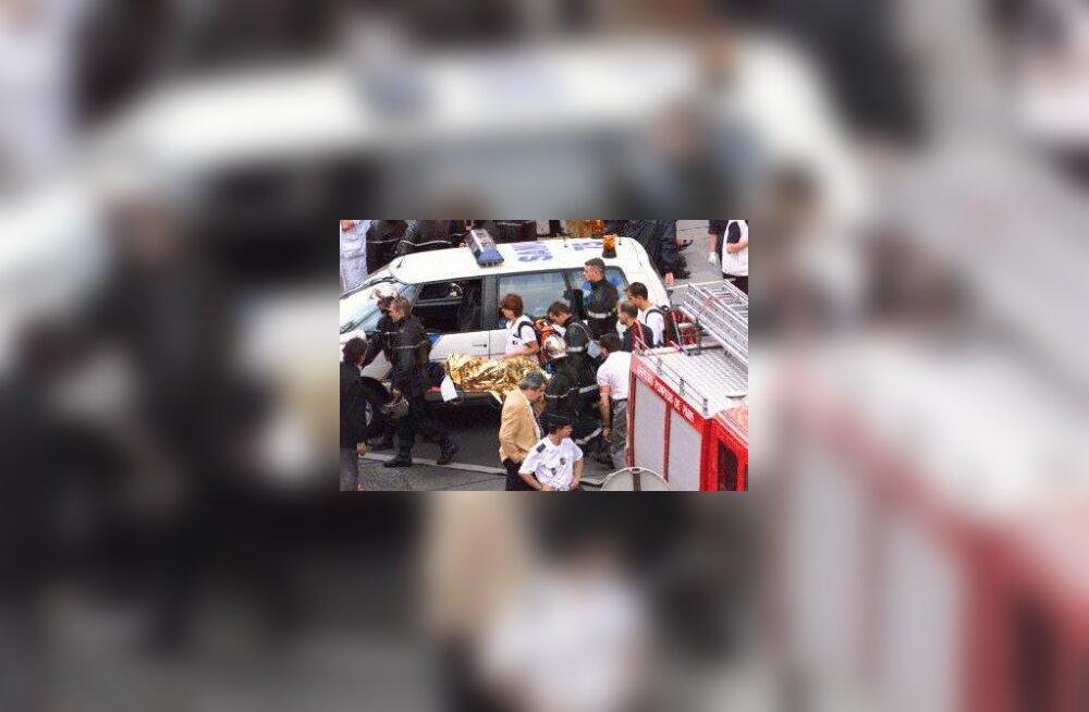 Metrooõnnetuses haavatu