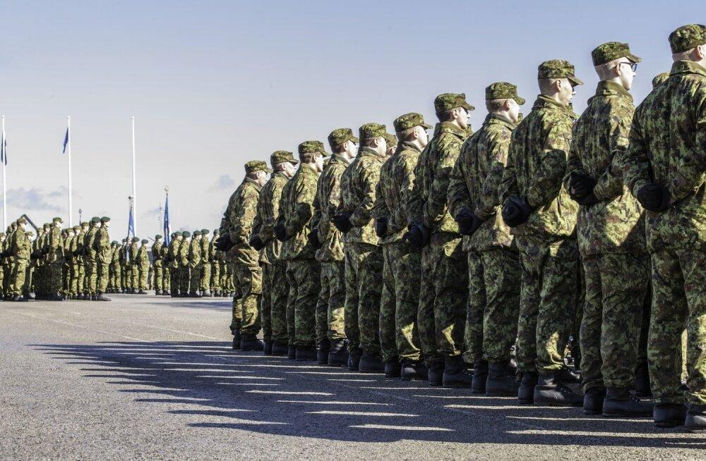 Kaitsevägi oli rivilaulu küsimuse ammu lahendanud, kui Venemaa propagandaveski täistuuridel tööle hakkas.
