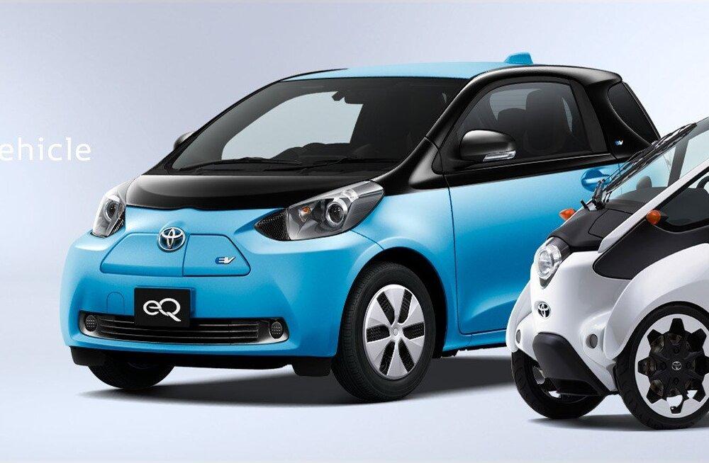 Toyota arendab uudse akuga elektriautot