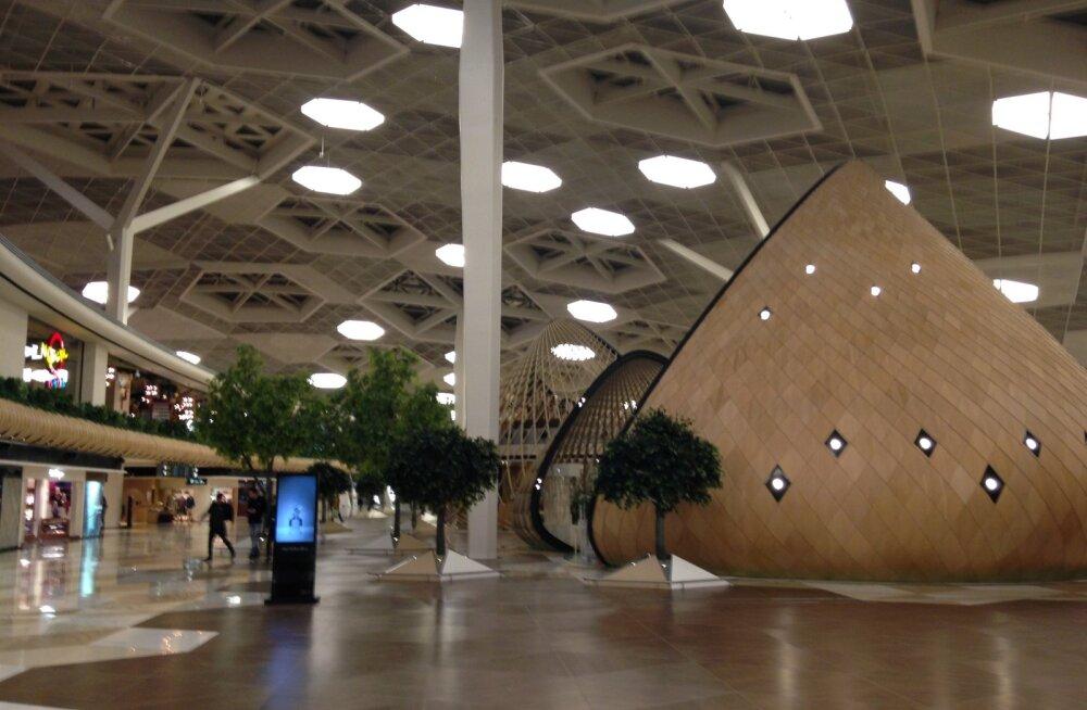 ФОТО. Шик, роскошь и инновации: смотрите, как выглядит аэропорт имени Гейдара Алиева в Баку