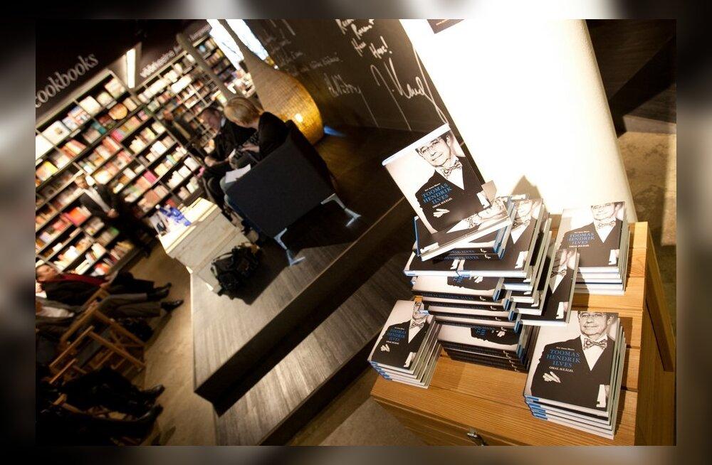 FOTOD: President Ilves esitles raamatut