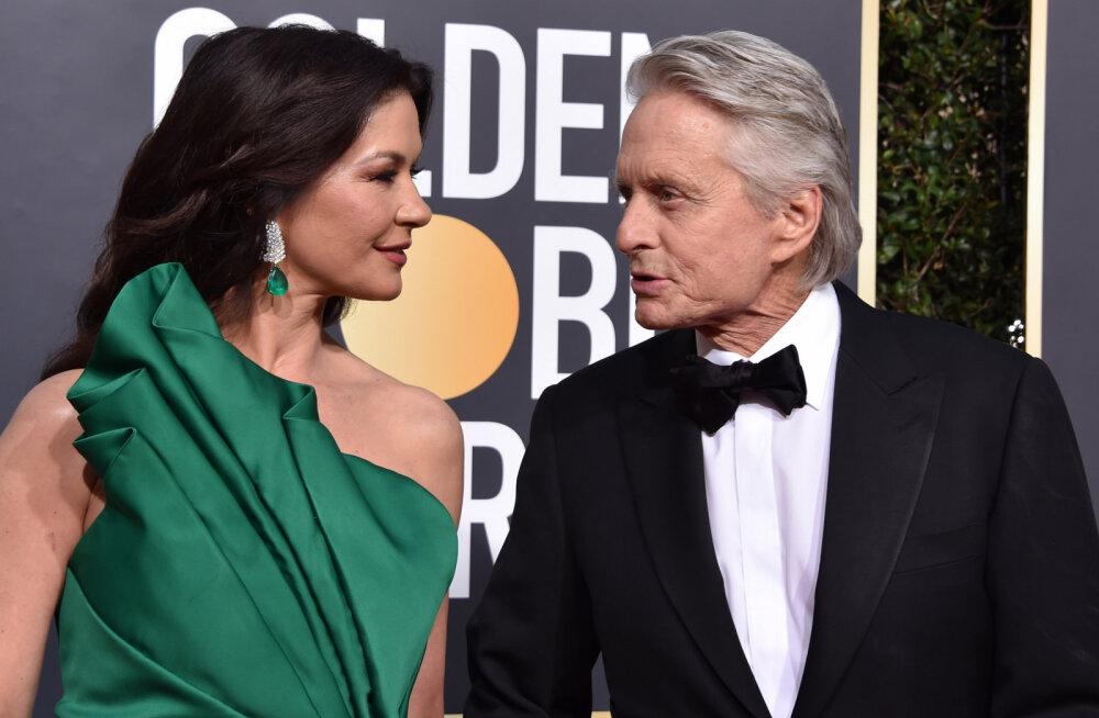 Michael Douglas avalikustas, kuidas tema ja Catherine Zeta-Jonesi abielu püsib 18 aasta järel kaljukindel
