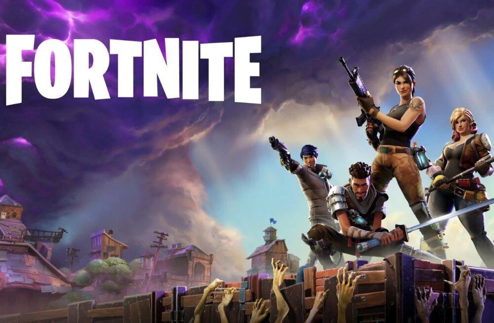 Videomängu Fortnite avakuva