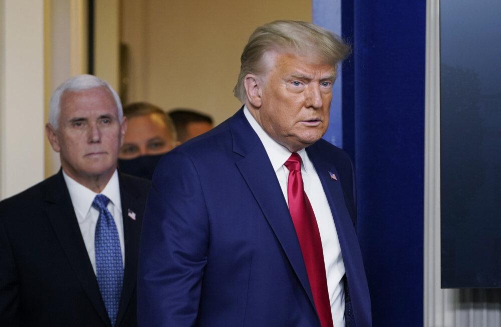 Asepresident Pence on väidetavalt Trumpile öelnud, et ei saa takistada Bideni võidu kinnitamist kongressis