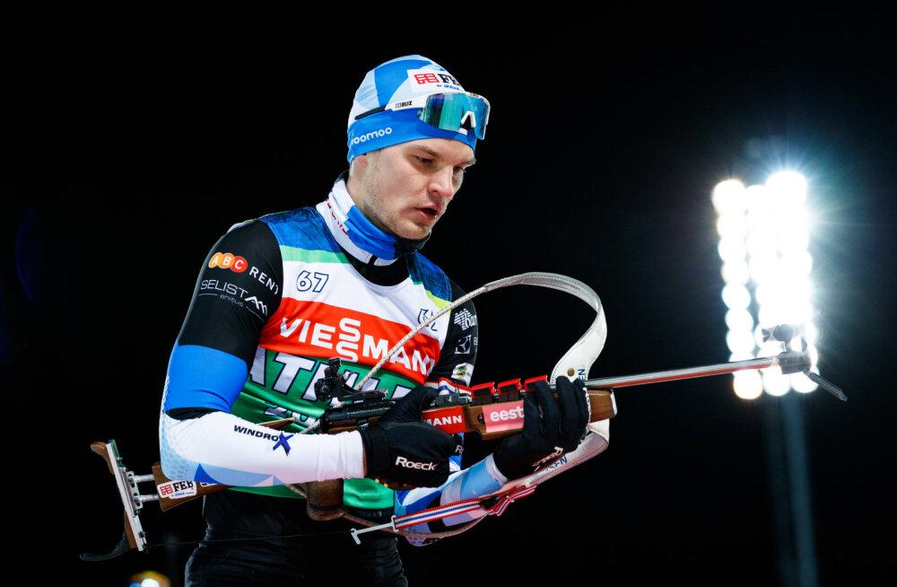 Fourcade võitis Oberhofi sprindi, Bö tegi uskumatu apsaka, eestlased olid kahvatud