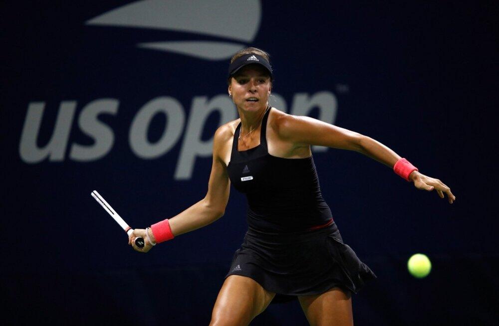 Anett Kontaveit piirdus US Openil ühe mänguga.