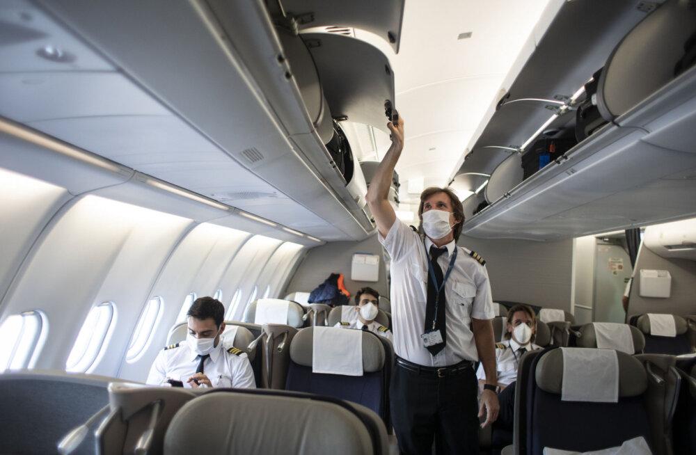 ФОТО | Дизайнеры создали модели салонов самолетов после пандемии