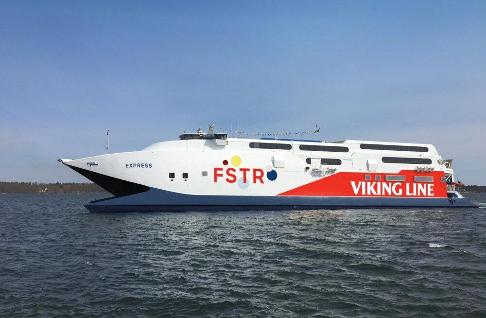 Viking Line toob järmisel nädalal Tallinna-Helsingi liinile kiire katamaraani