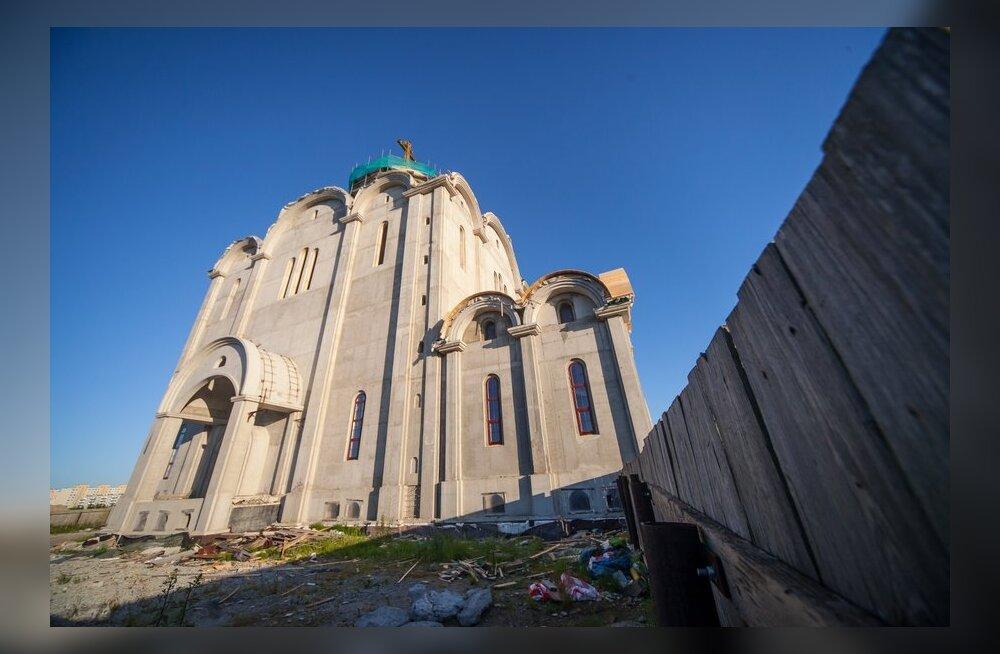 FOTOD ja VIDEO: Vaata, kui kaugele on jõutud Lasnamäe õigeusu kiriku ehitusega