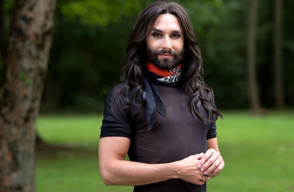 Eurovisioni võitnud Conchita Wurst: kleiti ma hetkel kanda ei taha!