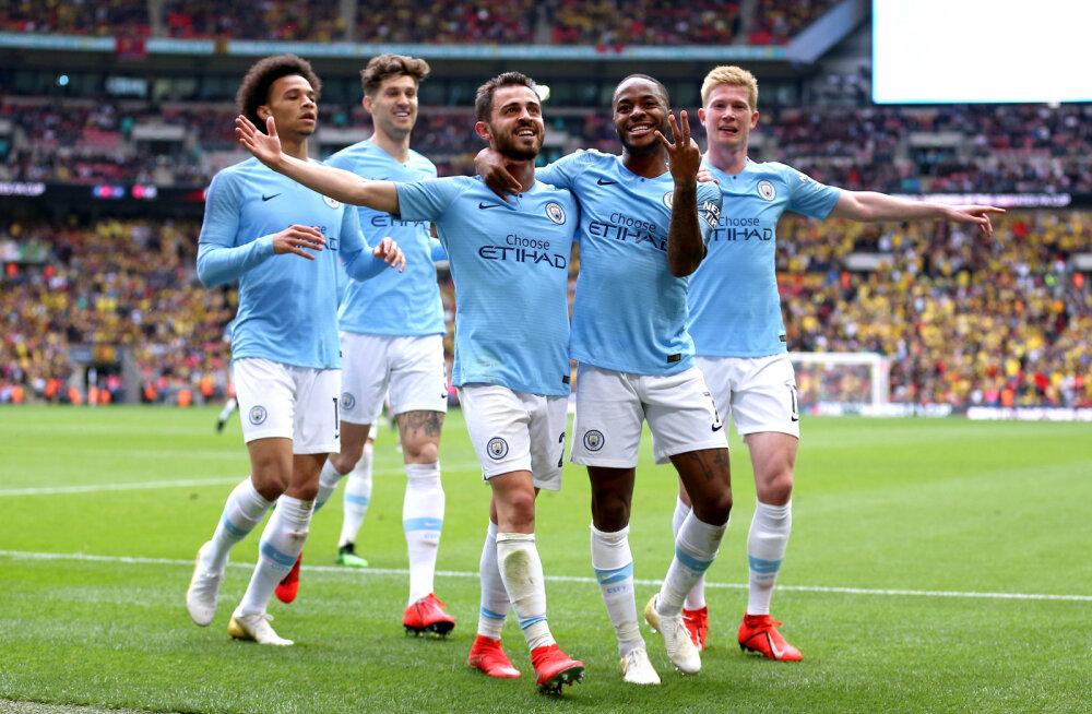 FA karika finaalis Watfordi purustanud Manchester City tegi Inglismaa jalgpalli ajalugu