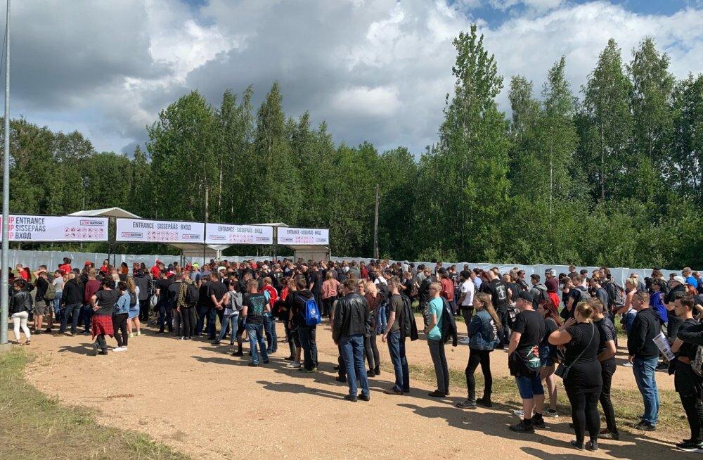 FOTOD | Tartu pole selliseid masse varem näinud! Vaata, kes saabusid Metallica kontserdile