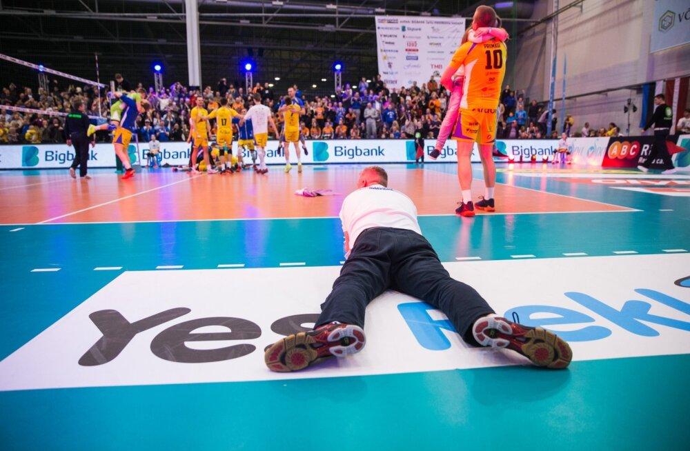 Rakvere võrkpalliklubi tipphetk, Balti liiga võit 2017. aastal. Sealt edasi hakkasid tekkima üha suuremad raskused.