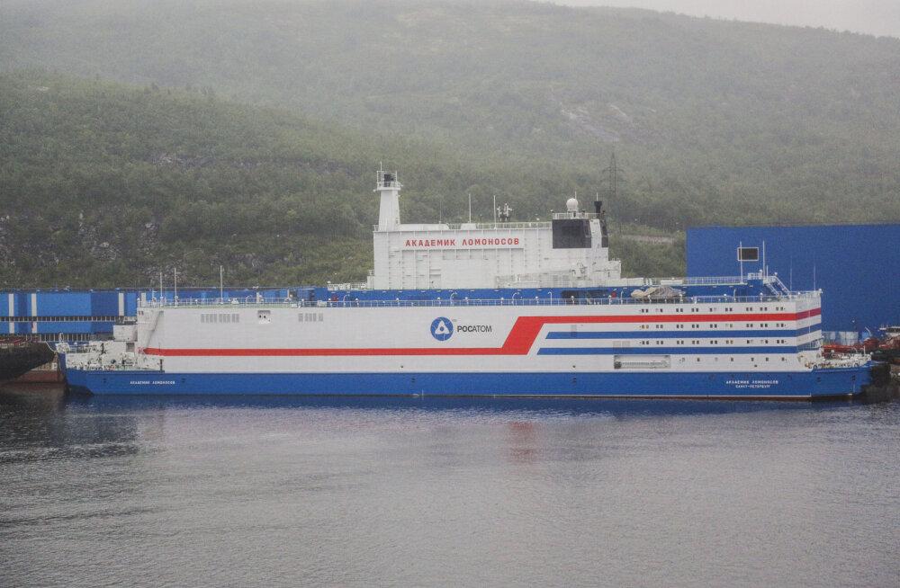 Venemaa alustab ujuva tuumajaama vedamist Murmanskist Tšukotkale