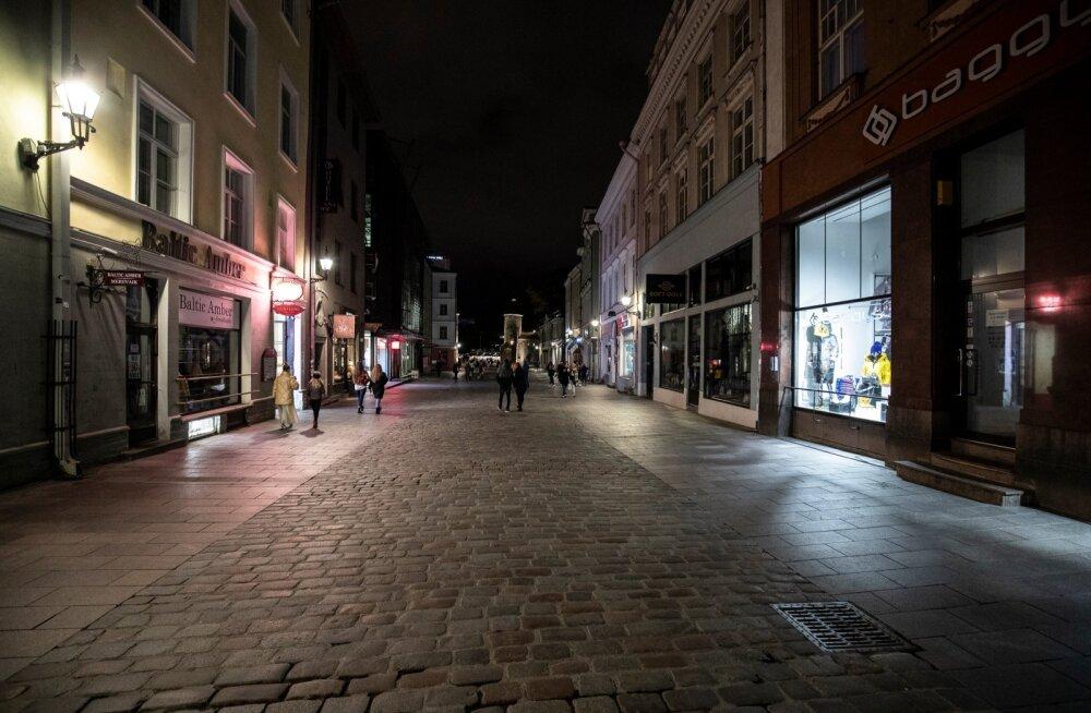 Pime Tallinna vanalinn
