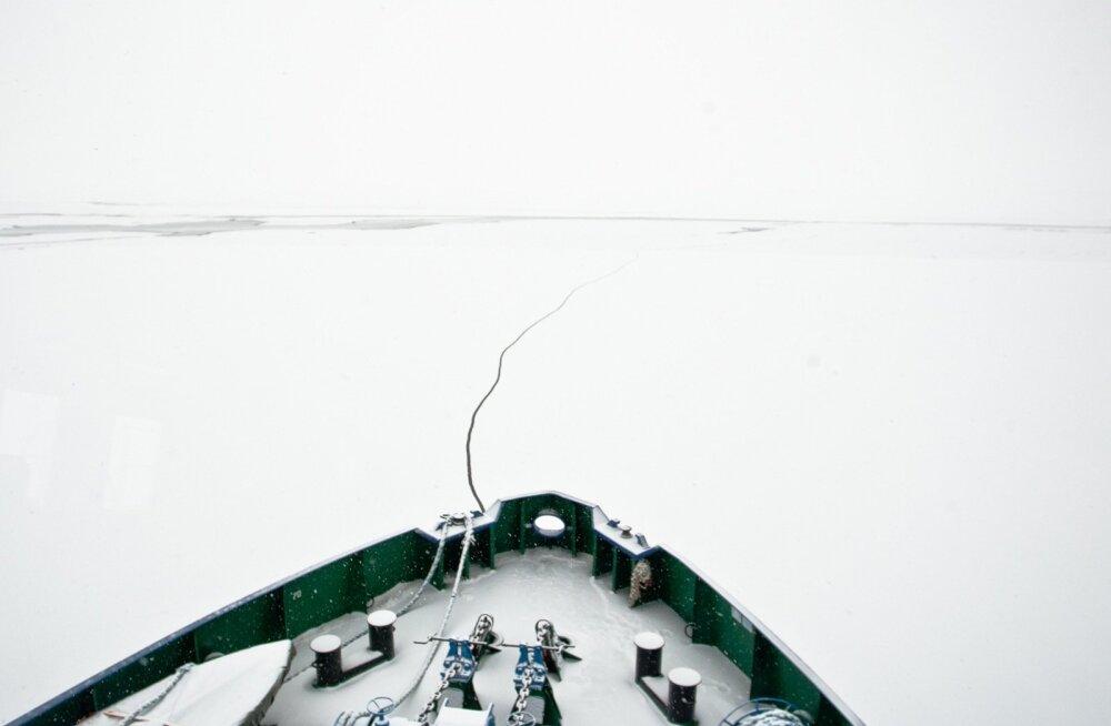 Laupäeval algavad Pärnu ja Liivi lahel jäämurdetööd