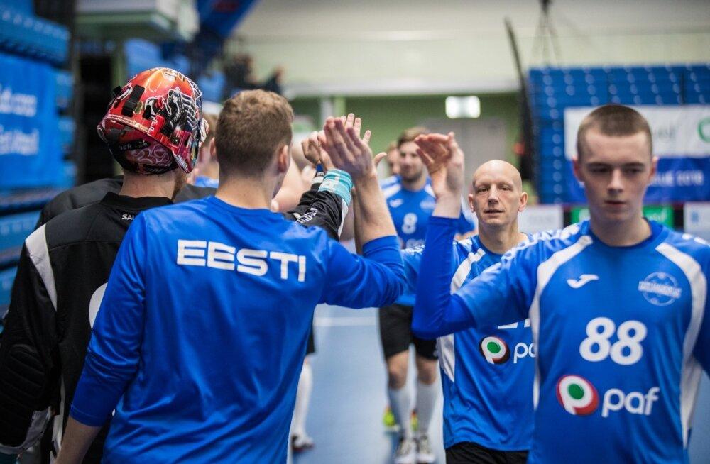 Saalihoki MM-valikturniir: Eesti - Liechtenstein