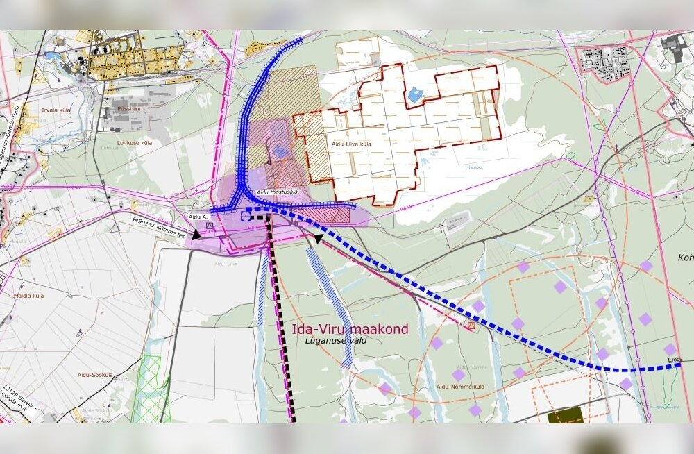 Uus-Kiviõli kaevanduse teemaplaneering.