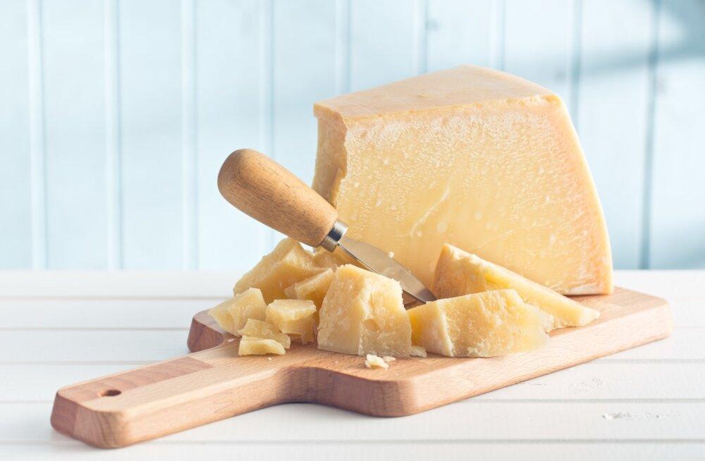 Parmesani juust.