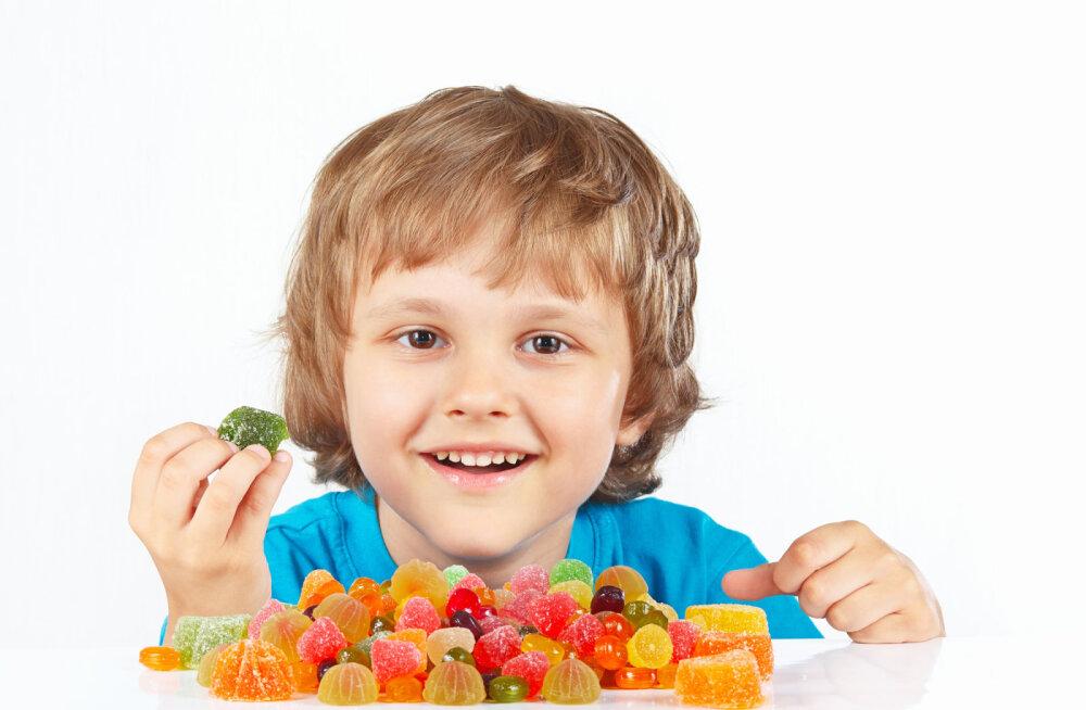 Miks laste maiustuste ja rämpstoiduga premeerimine on halb mõte