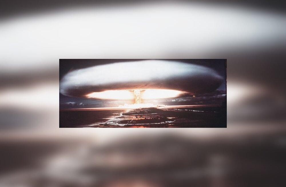 Mitme tuumapommiga saab inimkonna hetkega hävitada?