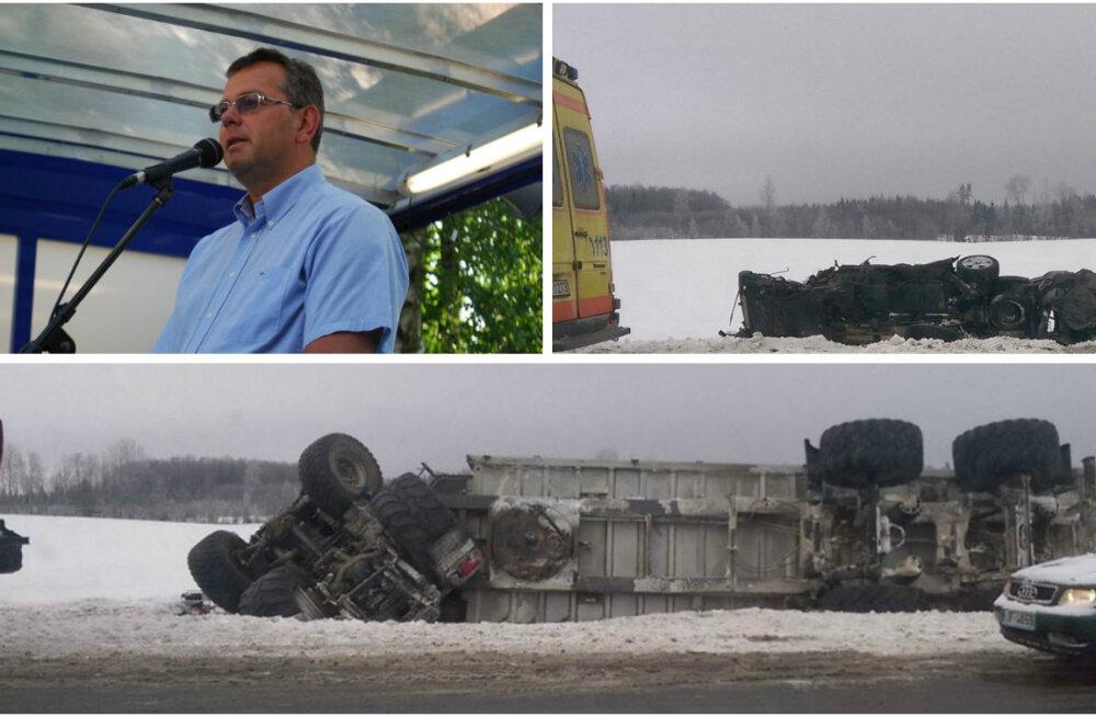 Ärimees Mati Heinsar hukkus Lätis liiklusõnnetuses