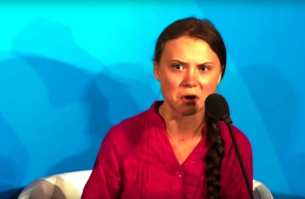 Greta Thunberg: ma olen sellest kliimaasjast edasi liikunud