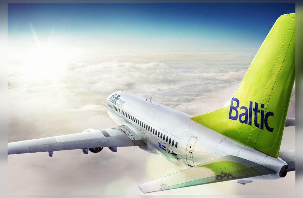 AirBaltic отмечает 22-летие деятельности