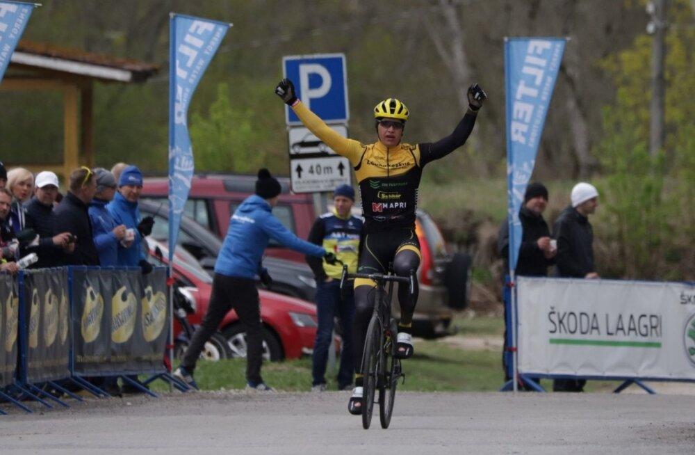 Oskar Nisu võidukas finiš