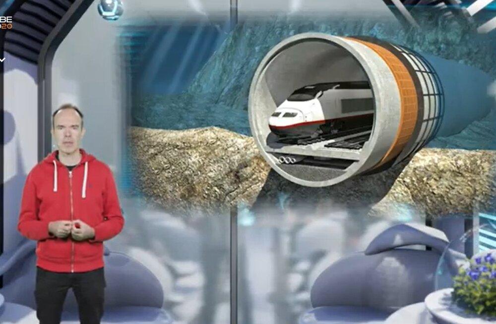 Peter Vesterbacka raiub edasi: 2024. aastal sõidab Talsinki tunnelis esimene rong