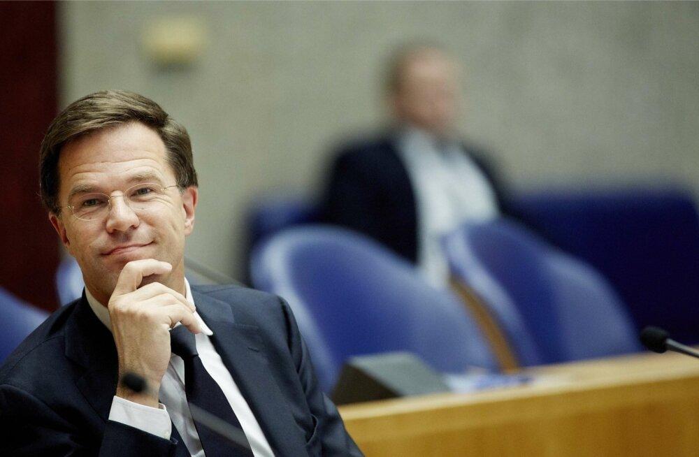 Hollandi peaminister: kui Kreeka peaks põgenikele piirid avama, lendaks ta kohe Schengeni ruumist välja