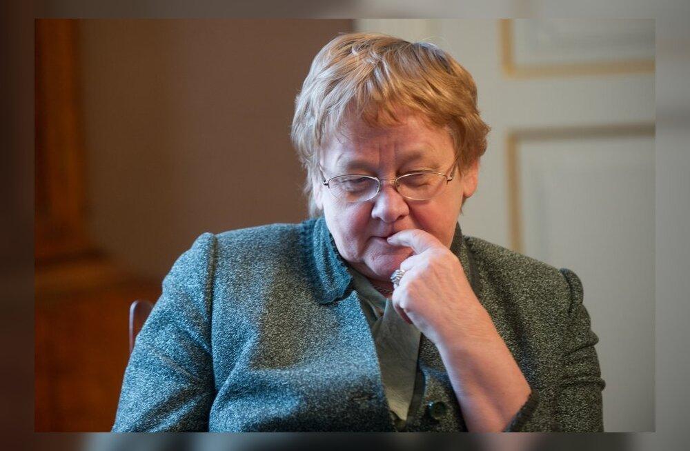 Riigikogu esimees Ene Ergma: hingevalu ei mahu sõnadesse.