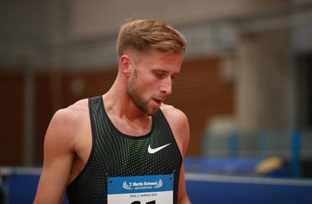 Rasmus Mägi Tartu võistlusel