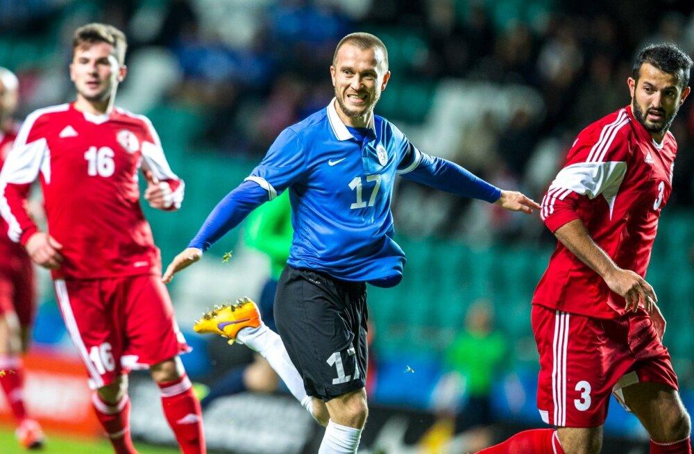 Enar Jääger saab taas selga tõmmata Eesti koondise särgi.