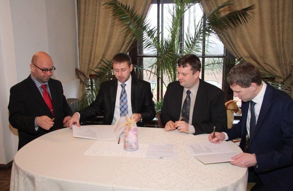 Sangaste ja Otepää allkirjastasid ühinemislepingu