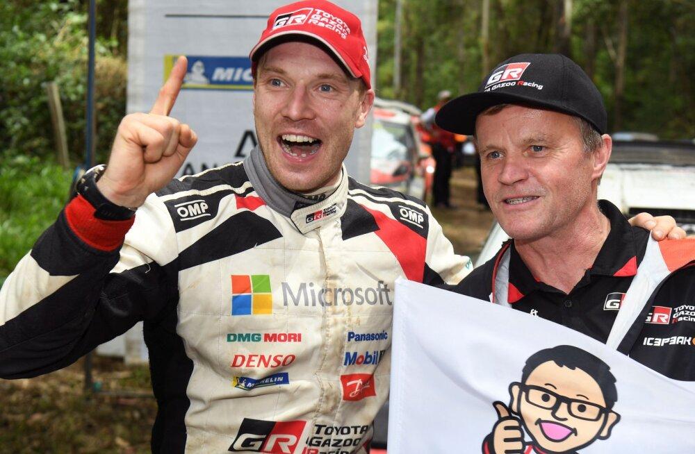 Tommi Mäkinen jahib järjekordset võitu: Toyota stardib Soome rallil viie mehega