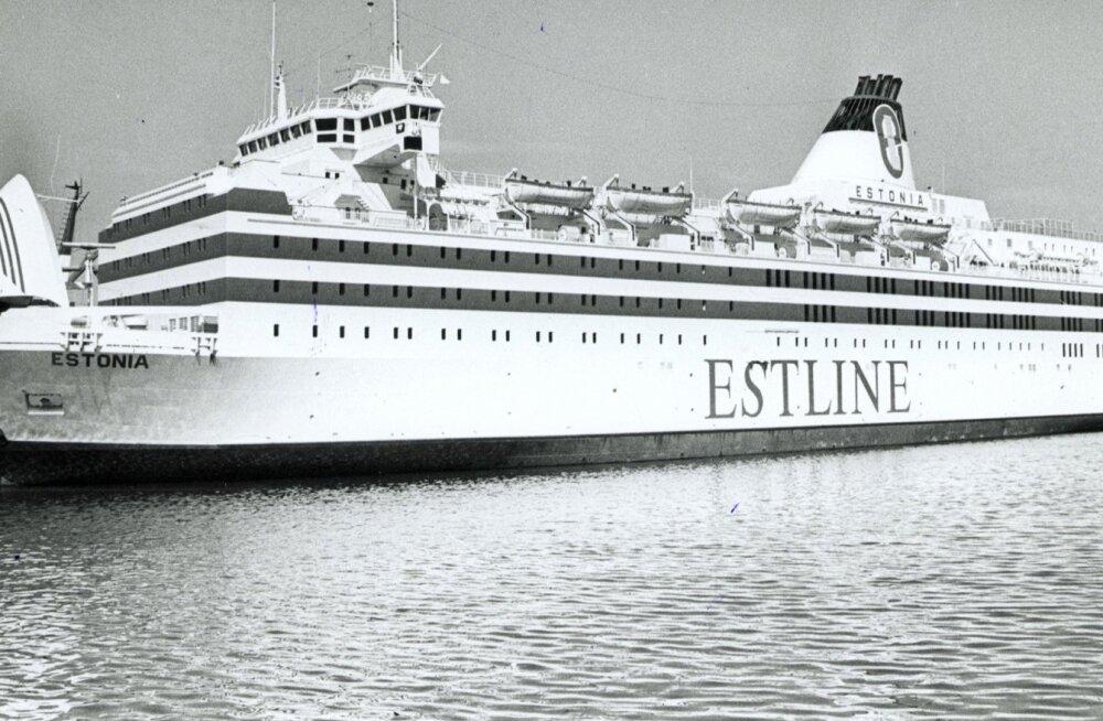 Parvlaev Estonia viis Läänemerel märga hauda 852 inimest.