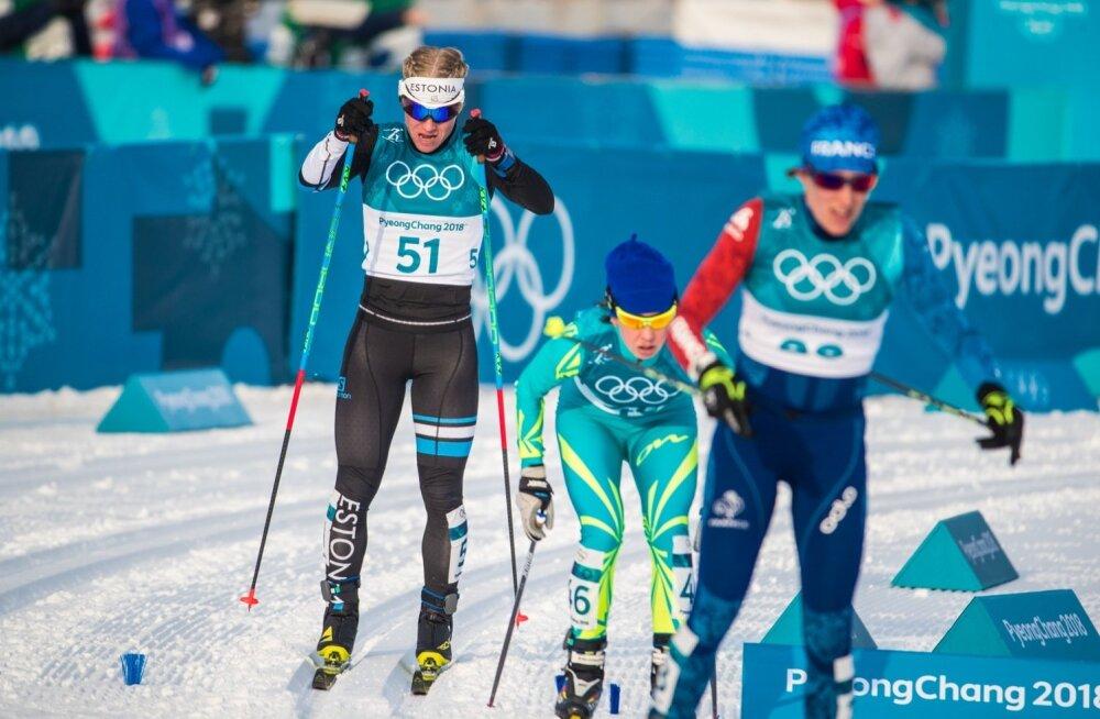 PyeongChang2018 Naiste suusavahetusega sõit