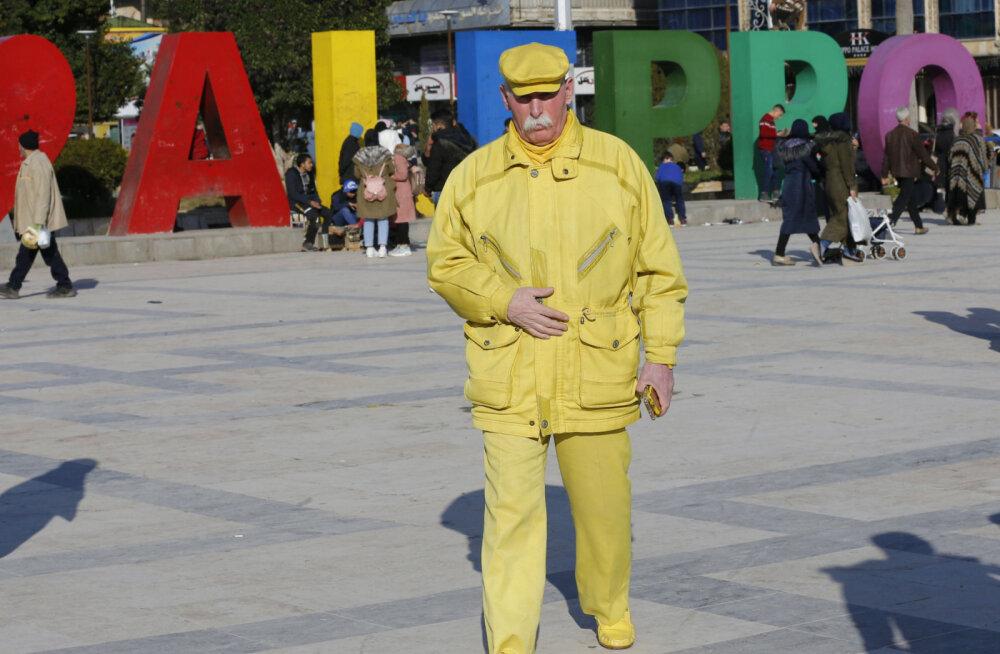 ФОТО. Желтый Человек из Алеппо. Кто он такой?