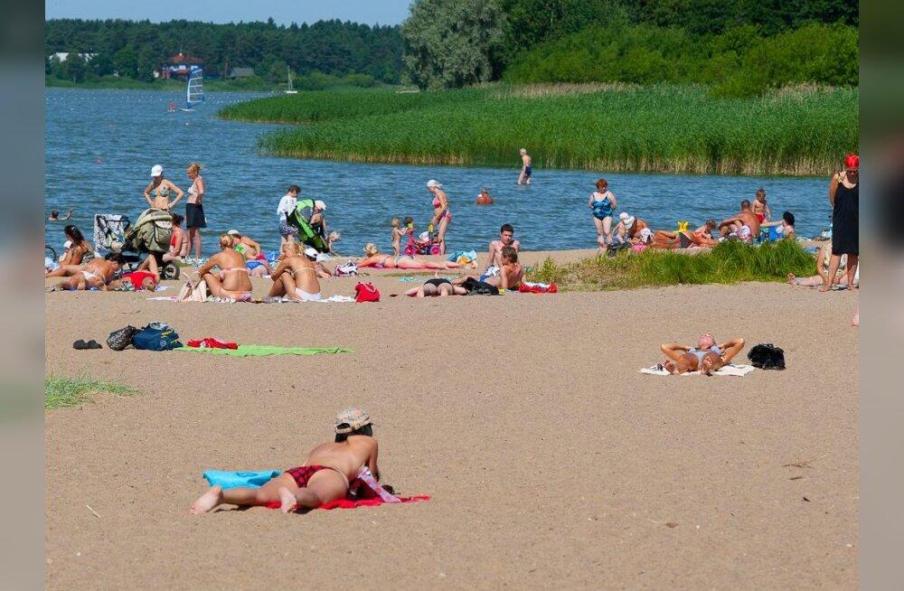 Terviseamet ei soovita Harku järves supelda